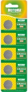 Мотома CR2032 5B 2407 3V 5 шт на блист.цена за 1 шт 93x300 Батареки, Зарядные устройста MOTOMA