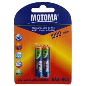 Motoma LR03 аккум.1000mAH 300x300 Батареки, Зарядные устройста MOTOMA