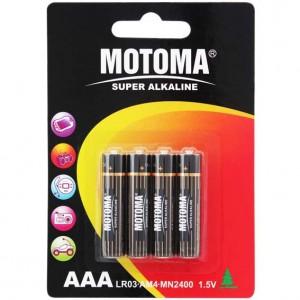 Motoma LR03 4B alkaline 96 шт 300x300 Батареки, Зарядные устройста MOTOMA
