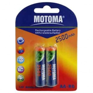 Motoma LR6 аккум.2500mAH 300x300 Батареки, Зарядные устройста MOTOMA