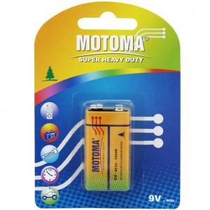 Motoma R 9V 1B Super Heavy Duty 12шт 300x300 Батареки, Зарядные устройста MOTOMA